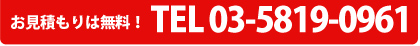 TEL03-5819-0961